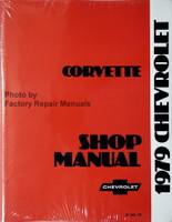 1979 Chevrolet Corvette Factory Shop Service Manual Reprint