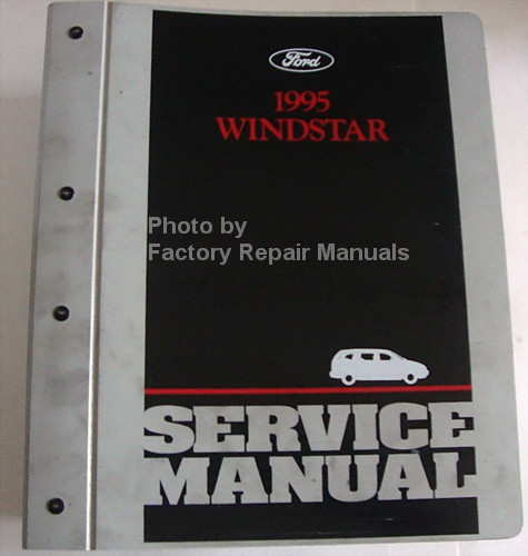 1995 ford windstar factory service manual original shop. Black Bedroom Furniture Sets. Home Design Ideas