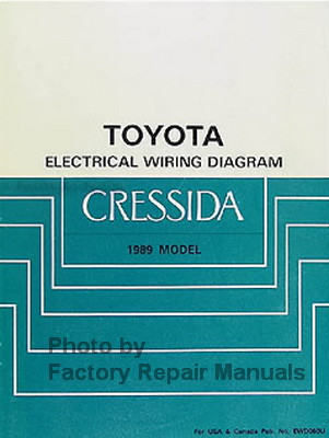 1989 toyota cressida electrical wiring diagrams factory repair 1989 toyota cressida electrical wiring diagrams
