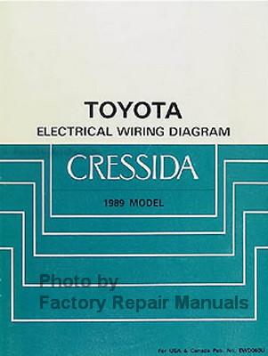 1989    Toyota       Cressida    Electrical Wiring    Diagrams     Factory Repair Manuals