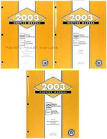 2003 Chevy S10 Pickup, Blazer, GMC Sonoma, Jimmy Factory Shop Service Manual Set Used