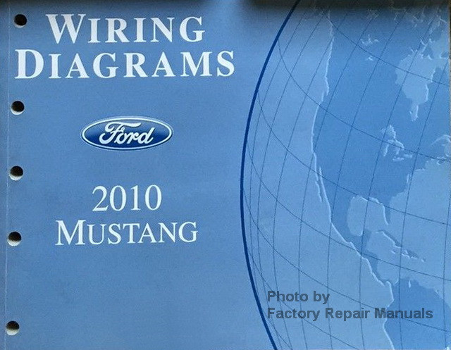 2010 Ford Mustang  U0026 Shelby Gt500 Electrical Wiring Diagrams Manual