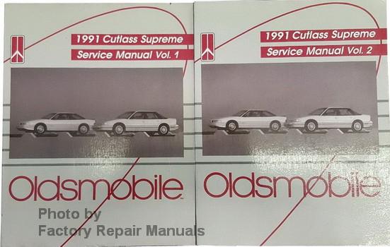 1991 oldsmobile cutlass supreme factory service manuals. Black Bedroom Furniture Sets. Home Design Ideas