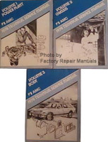 AMC 1978 Technical Service Manual Volume 1, 2, 3