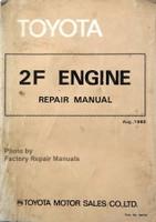 Toyota 2F Engine Repair Manual