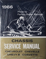 1966 Chevrolet Bel Air Biscayne Chevy II Corvette Chevelle El Camino Impala Chassis Service Manual