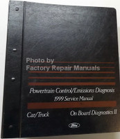 1999 Ford Lincoln Mercury Car & Truck Powertrain Control / Emissions Diagnosis Service Manual