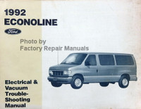 1992 Econoline Ford Electrical & Vacuum Troubleshooting Manual