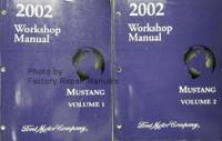 2002 Workshop Manual Ford Mustang Volume 1, 2