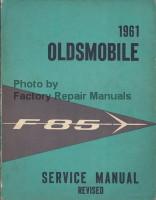 1961 Oldsmobile F-85 Service Manual