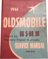 1961 Oldsmobile 88, S-88, 98 Service Manual