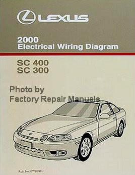 2000    Lexus       SC400    SC300 Electrical    Wiring       Diagrams    Manual