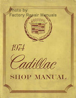 1974 Cadillac Shop Manual
