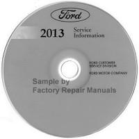 Ford 2013 Service Information Escape