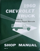 1960 Chevrolet Truck Shop Manual