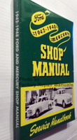 1942-1948 Ford Mercury Shop Manual Spine View