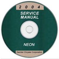 2004 Dodge Neon Service Manual CD