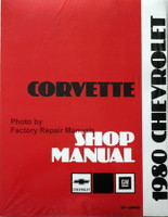 1980 Chevrolet Corvette Service Manual Reprint