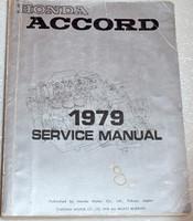 1979 Honda Accord Factory Service ManualOriginal Shop Repair w/Wiring Diagrams