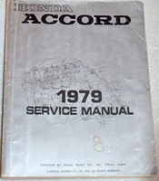 Honda Accord 1979 Service Manual