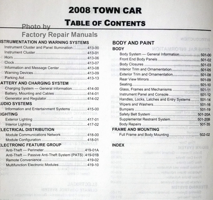 ford factory service manuals pdf