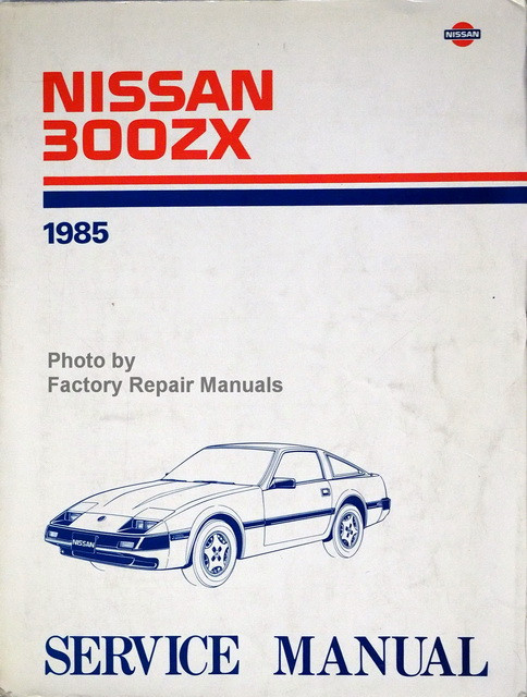 1985 nissan 300zx factory service manual original shop