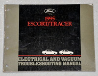 1995 Ford Escort Mercury Tracer Electrical Troubleshooting Shop Manual