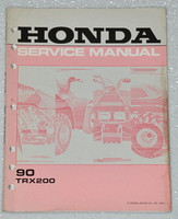 1990 HONDA FOURTRAX 200 TRX200 ATV QUAD Factory Shop Service Repair Manual TRX
