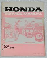 Honda Service Manual 90 TRX200