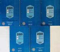 2001 Sierra, Silverado, Tahoe, Suburban, Yukon & Denali Service Manuals GM CK8 Platform