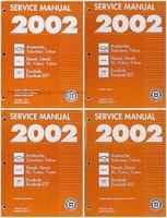 2002 Chevy Tahoe Suburban Avalanche - GMC Yukon Denali - Cadillac Escalade Service Repair Manual Set