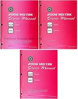 2008 Chevrolet Kodiak GMC Topkick 560C Truck Service Manual Volume 1, 2 ,3