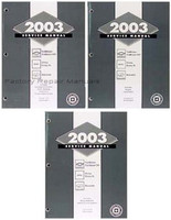 2003 Chevy Trailblazer, GMC Envoy, Olds Bravada Factory Shop Service Repair Manual Set