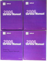 2006 Cadillac Deville & DTS Original Factory Shop Service Repair Manual Set
