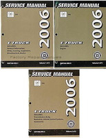 2006 Cadillac SRX Factory Shop Service Repair Manual Set