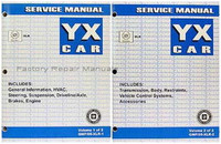 2005 Cadillac XLR Roadster Factory Shop Service Repair Manual Set