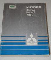 1985 MITSUBISHI MIRAGE L LS TURBO Factory Dealer Shop Service Repair Manual Book