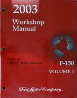 2003 Workshop Manual Ford F-150 Volume 1 & 2 Front View