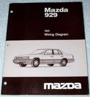Mazda 929 1991 Wiring Diagrams