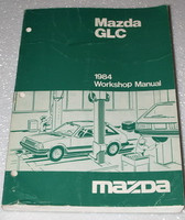 1984 MAZDA GLC DX LX Sedan Hatchback Factory Dealer Shop Service Repair Manual