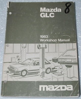 1983 MAZDA GLC Custom Sport Sedan Hatchback Factory Shop Service Repair Manual