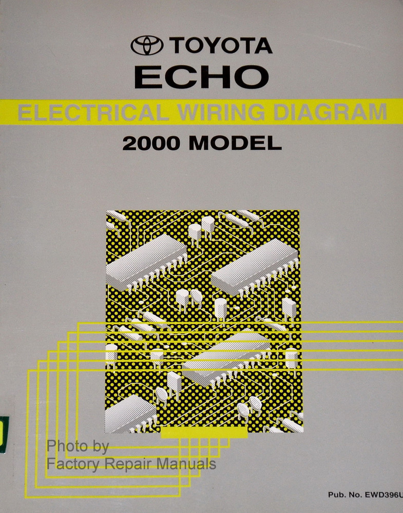 2000 Toyota Echo Electrical Wiring Diagrams Original