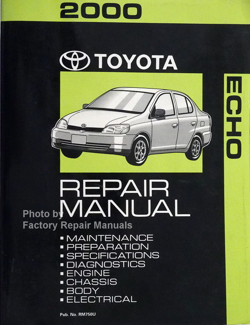 2000 toyota echo service repair manual