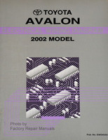 Toyota Avalon Electrical Wiring Diagrams 2002 Model