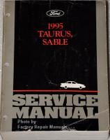 1995 Ford Taurus, Sable Service Manual