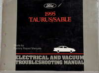 1995 Ford Taurus Mercury Sable Electrical and Vacuum Troubleshooting Manual