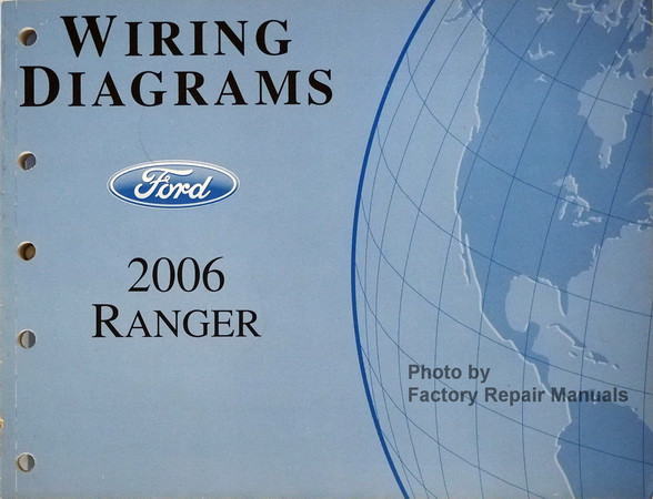 2006 ford ranger pickup truck electrical wiring diagrams original wiring diagrams ford 2006 ranger