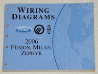 2006 ford style five hundred mercury montego electrical wiring diagrams ford mercury lincoln 2006 fusion milan zephyr