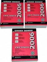 2006 Chevy Suburban Tahoe GMC Yukon Cadillac Escalade Shop Service Manual Set