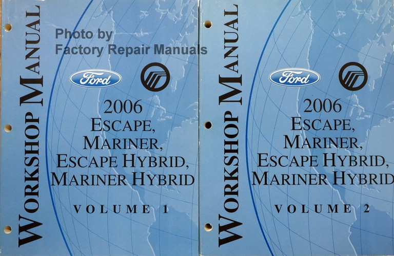 2006 ford escape repair manual pdf